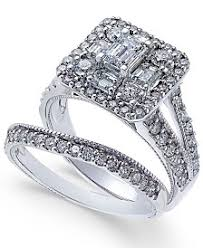 engagement wedding rings womens engagement and wedding rings macy s
