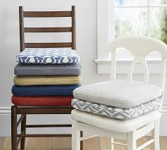 PB Classic Dining Chair Cushion Pottery Barn - Chair cushions for dining room