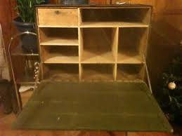 caisse de bureau caisse administrative militaire bureau de cagne vintage