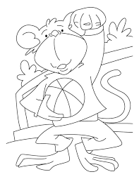 sock monkey coloring pages bestofcoloring