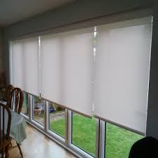battery operated roller blinds with mermet fabric neatly concealed