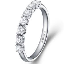 white gold eternity ring 1 3 eternity ring in 14k white gold with 0 5 ct of diamonds