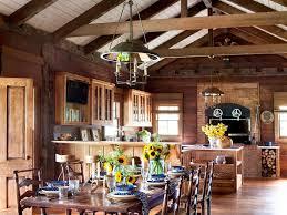 open dining room defining a kitchen loft floor plan exposed beams