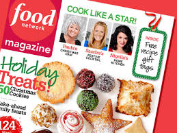 food network magazine december 2009 recipe index recipes and