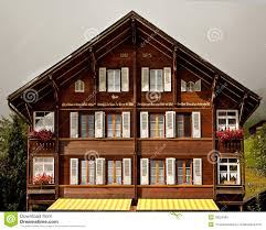 swiss chalet house clipart collection