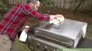 how to clean an outdoor gas grill 14 steps with pictures