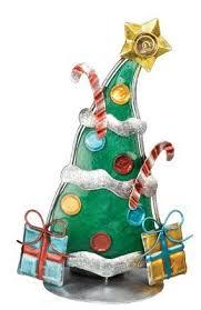 amazon com christmas tree tea light candle holder home u0026 kitchen
