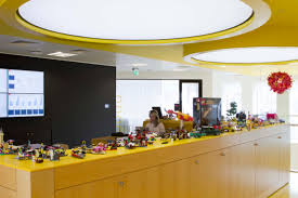 desks inside lego u0027s imaginative london office the long and