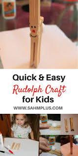 quick and easy rudolph craft your kids will really love sahm