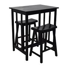 High Kitchen Table Sets by 66 Off Tall Kitchen Table Set Tables