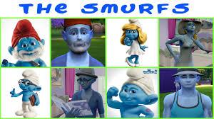 the smurfs mod the sims the smurfs