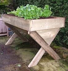 heritage manger raised veg planter 180cm raised wooden planter
