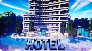 Hotel Interior Designs Minecraft Modern Hotel House Tour Full Of Interior Design