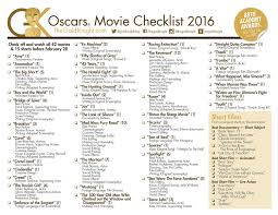printable halloween quizzes oscars 2016 download our printable movie checklist the gold