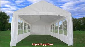 Carport Canopy Heavy Duty 30 U0027x10 U0027 Heavy Duty Party Wedding Tent Canopy Carport White