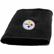 Fireplace And Patio Store Pittsburgh by Nfl Pittsburgh Steelers Decorative Bath Collection Bath Towel