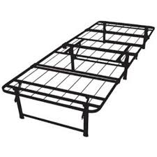 twin size steel folding metal platform bed frame affordable beds com