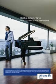 ad un piano insurance ad grand piano allianz creative ads and more