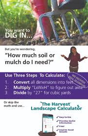 how much soil or mulch do you need