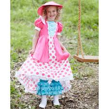 child glamour witch costume polka dot bo peep child costume buycostumes com