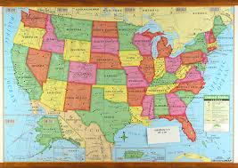 map of america showing states and cities us map with states cities united states map showing states and