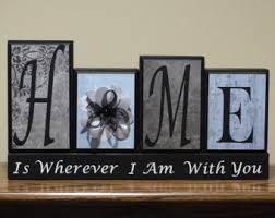 home decor family block letters family is everything rust