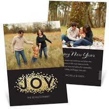 new year s card new years cards custom designs from pear tree