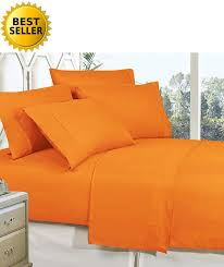 Best Bedsheet by Orange Bed Sheet Sets Fall Sale U2013 Ease Bedding With Style