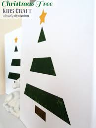 painted holiday tree kid craft texturedsurface