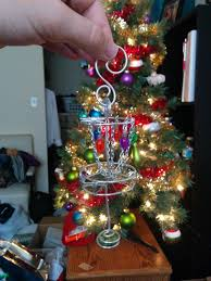 my gf got me another epic disc golf gift now the tree is