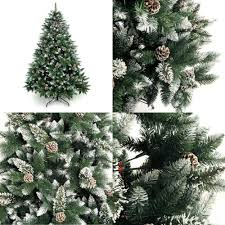 artificial tree 6 7 foot prince flock tree with pine