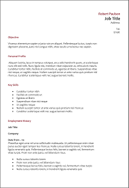 Best It Resume by It Cv Writing Examples