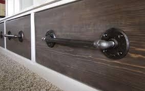 kriskraft industrial look drawer pulls
