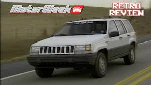 retro review 1993 jeep grand cherokee laredo youtube