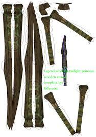 Master Sword Papercraft - wooden sword template by killero94 on deviantart