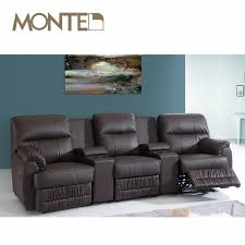 Theater Reclining Sofa Likeable 3 Seat Reclining Sofa Home Theater Recliner Covers Buy