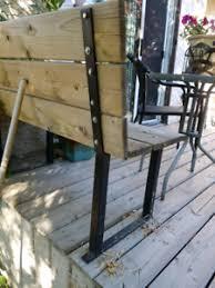 Metal Deck Bench Brackets - buy or sell decks u0026 fences in regina garden u0026 patio kijiji