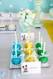 Mickey Mouse Party Theme Decorations - kara u0027s party ideas baby mickey first birthday party ideas
