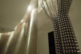 Steel Bead Curtain Modern Curtains At Maximus Spa Partitions And Space Dividers