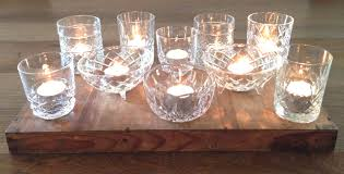 glass tea light holders cut glass tealight holders may rose style hire
