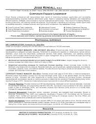 financial planning and analysis resume examples example finance resume examples of resumes