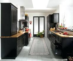 cuisine noir cuisine noir laque beau s d angle 4 laquee leroy merlin