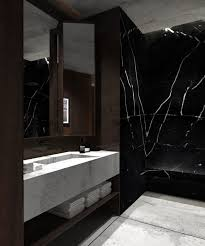 black bathroom ideas best 25 black marble bathroom ideas on framed shower