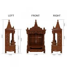 sevan wood pooja mandir models for home 170613 2585 sevan wood