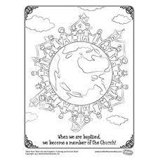 baptism coloring page free catholic coloring page catholic