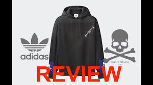 mastermind world japan x adidas originals collaboration hoodie