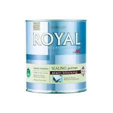 royal interior exterior stain halt stain blocking sealing primer