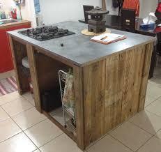 meuble ilot cuisine ilot cuisine palette inspirations avec meuble pour ilot central