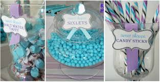 candy themed party sixlets candy salt water taffy and buffet