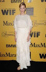 cate blanchett u0027s white chloe dress and gold flat shoes glamour